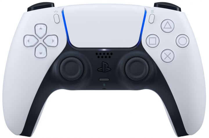 Беспроводной геймпад PlayStation 5 Dualsense White для PS5/PS 5 Digital Edition
