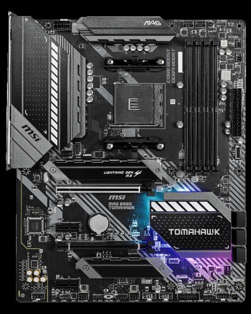 Материнська плата MSI MAG B550 Tomahawk (sAM4, AMD B550, PCI-Ex16) - зображення 1