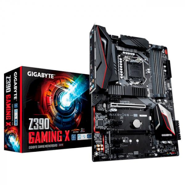 Материнская плата Gigabyte z390 gaming x - изображение 1