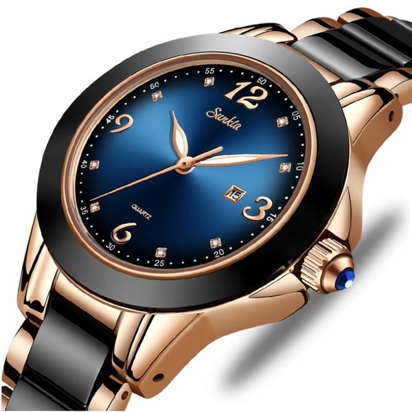 Жіночі годинники Sunkta Ceramic - зображення 1
