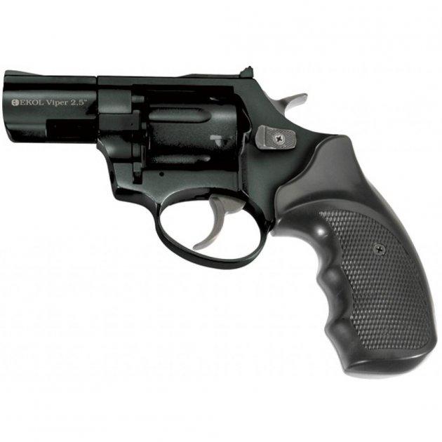 Револьвер під патрон Флобера Ekol Major Berg 2 Black - зображення 1