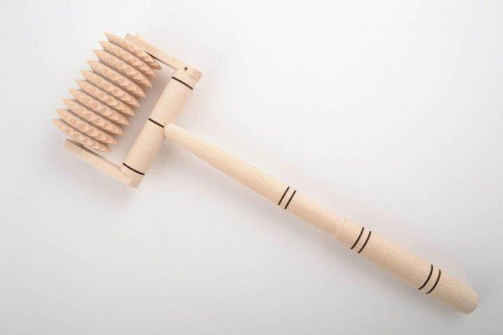 Дерев'яний Легит масажер з ручкою (002) - зображення 1