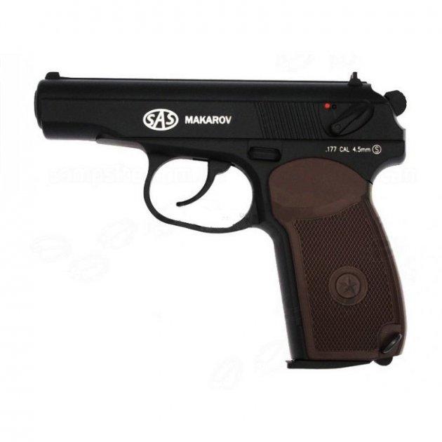 Пневматичний пістолет SAS Makarov - зображення 1