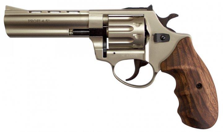"""Револьвер флобера Zbroia PROFI-4.5"""" (сатин / дерево) - изображение 1"""