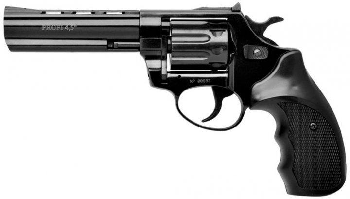 """Револьвер флобера Zbroia PROFI-4.5"""" (чёрный / пластик) - изображение 1"""