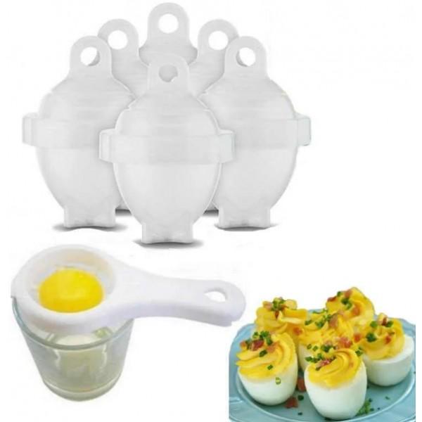 Форми для варіння яєць без шкаралупи Eggies EG-6 - изображение 1