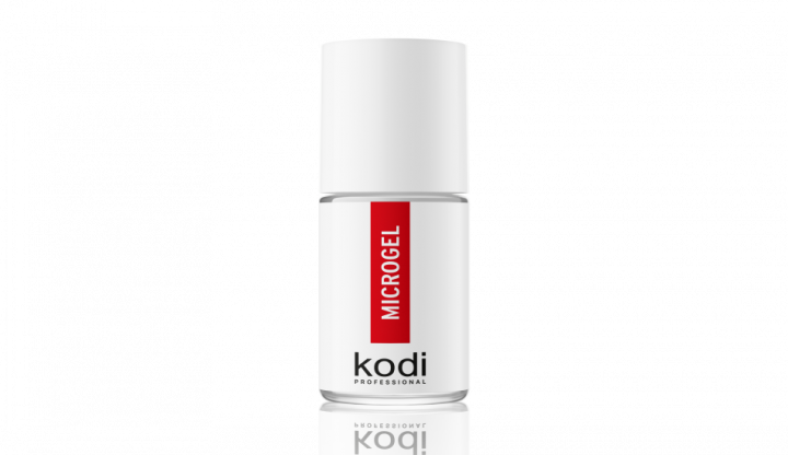 Засіб для зміцнення натуральної нігтьової пластини Kodi Microgel 15 мл - зображення 1