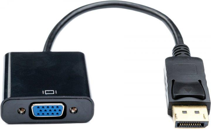 Перехідник Atcom DisplayPort (male) — VGA (female) 10 см (16851) - зображення 1