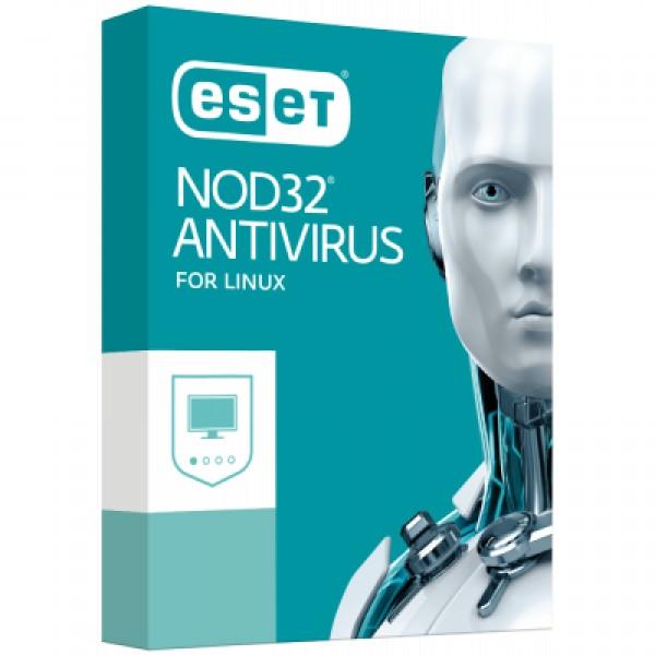 Антивірус ESET NOD32 Antivirus для Linux Desktop для 22 ПК, ліцензія на 3 y (38_22_3) - зображення 1