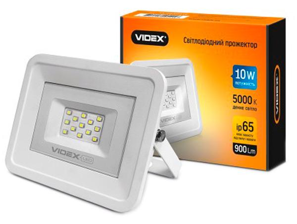 Прожектор VIDEX 10W 5000K 220V (24248) - зображення 1