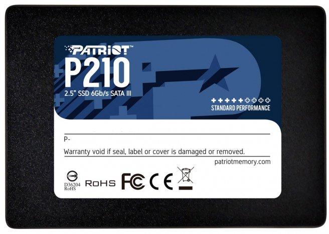 "Patriot P210 128GB 2.5"" SATAIII TLC (P210S128G25) - зображення 1"