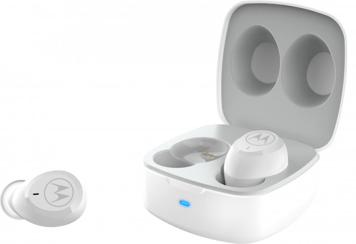 Навушники Motorola Verve Buds 100 White TWS (SH052 WH) - зображення 1