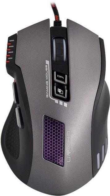 Миша Crown CMXG-711 Titan USB Black - зображення 1