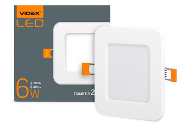 Світильник точковий VIDEX 6W 5000K 220V (24071) - зображення 1