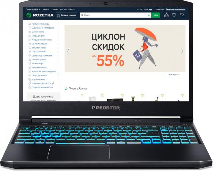 Ноутбук Acer Predator Helios 300 PH315-53-74V8 (NH.Q7YEU.00R) Abyssal Black - зображення 1