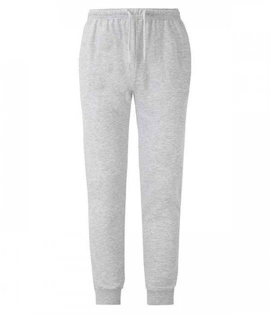 Спортивные брюки Fruit of the Loom Lightweight cuffed jog pants XXL Серый (0640460942XL) - изображение 1