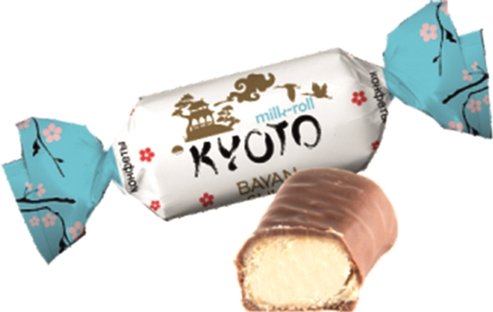 Конфеты Bayan Sulu Kyoto Milk-roll 1 кг (4870200147920) - изображение 1