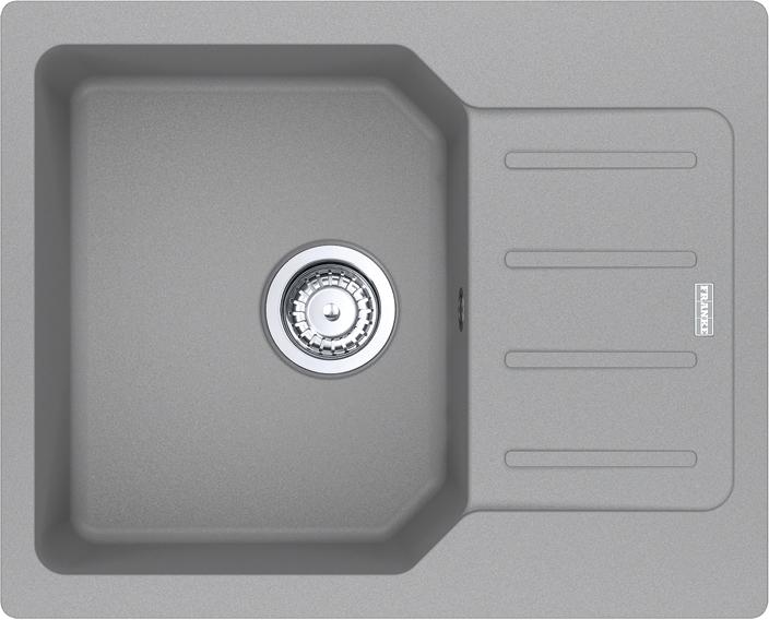 Кухонна мийка FRANKE City UCG 611-62 (114.0615.391) сірий камінь - зображення 1