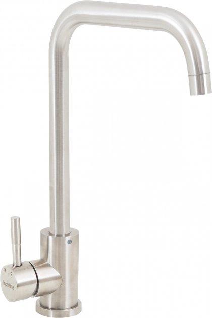 Кухонний змішувач INTERLINE Angle сатин - зображення 1