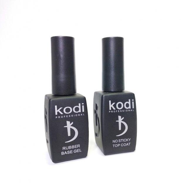 База каучукова і Топ без липкого шару Kodi Professional по 12 мл - зображення 1