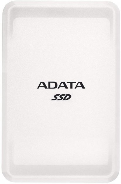 "ADATA SC685 500GB 2.5"" USB 3.2 Type-C 3D NAND TLC White (ASC685-500GU32G2-CWH) External - изображение 1"