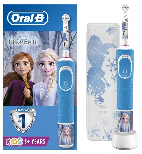 Електрична зубна щітка ORAL-B BRAUN Stage Power/D100 Frozen Gift Limited Edition (4210201310327) - зображення 1