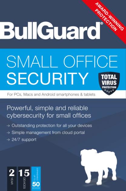 Антивирус BullGuard Small Office Security 2 year 15 devices - изображение 1
