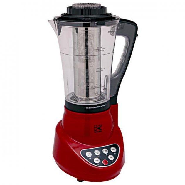 Блендер - суповарка з функцією приготування їжі Kalorik, RED - зображення 1