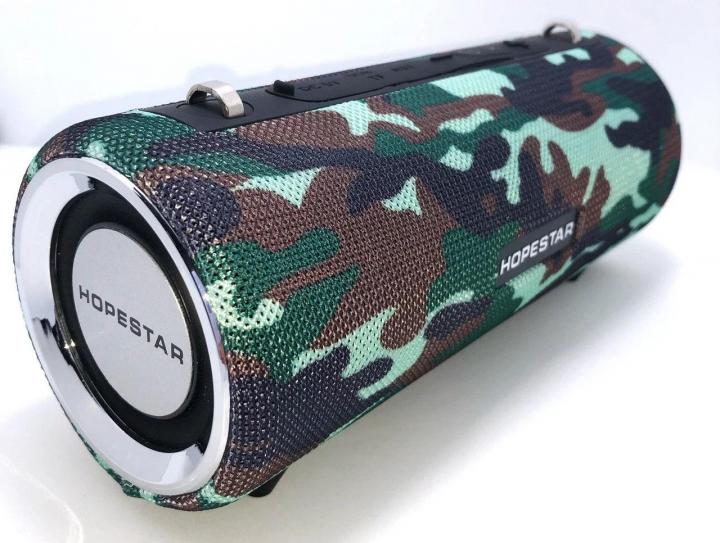 Портативная беспроводная Bluetooth (Блютуз) колонка Hopestar H39 Камуфляж - изображение 1