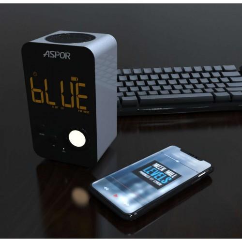Bluetooth колонка Aspor A658 Black - зображення 1