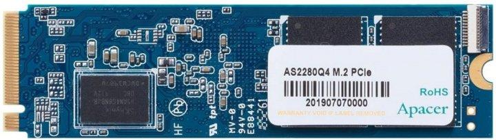 Apacer AS2280Q4 1TB NVMe M.2 2280 PCIe 4.0 x4 3D NAND TLC (AP1TBAS2280Q4-1) - зображення 1