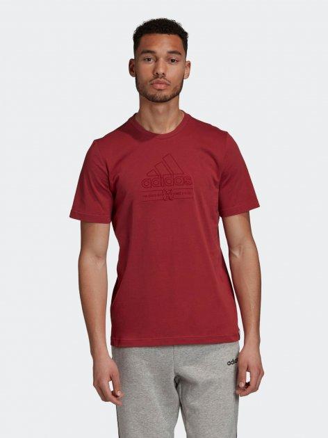 Футболка Adidas M Bb T GD3847 S Legacy Red (4062061969142) - изображение 1
