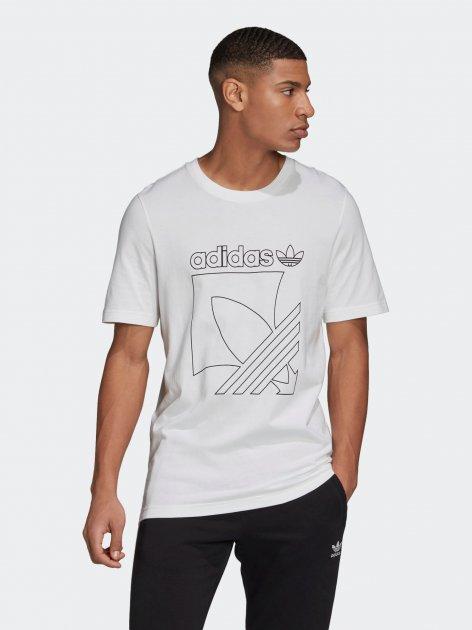 Футболка Adidas Sprt 3S Tee GD5836 S White (4061612001393) - зображення 1