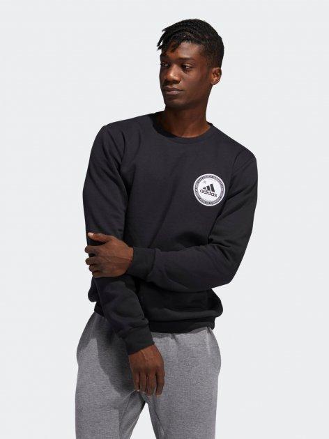 Світшот Adidas Collegiate Crew GE5523 2XL Black (4062061832538) - зображення 1