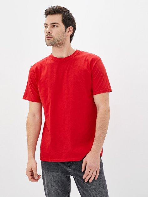 Футболка ROZA 170201 2XL Красная (4824005553417) - изображение 1
