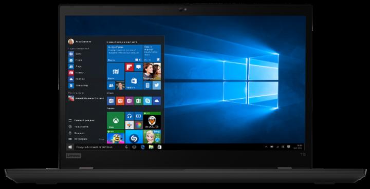 Ноутбук Lenovo ThinkPad T15 Gen 1 (20S6000PRT) Black - зображення 1