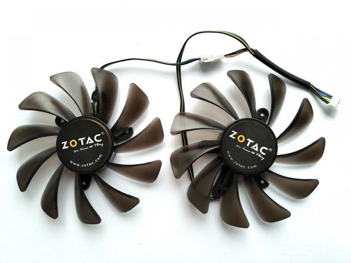 Вентилятор Ecotherm для видеокарты Zotac AMP Edition GFM10012H12SPA (GAA8S2U) №177.1 - изображение 1