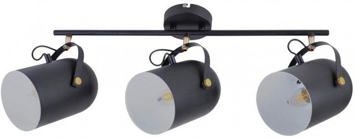 Світильник спотовий Brille HTL-209/3 E27 BK (26-797) - зображення 1