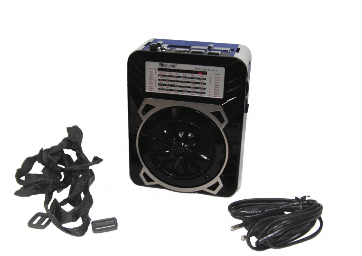Радиоприемник Golon RX-9133 SD/USB с фонарем - изображение 1