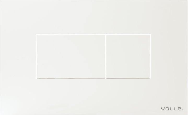 Панель смыва VOLLE Neo W 221919 белая - изображение 1