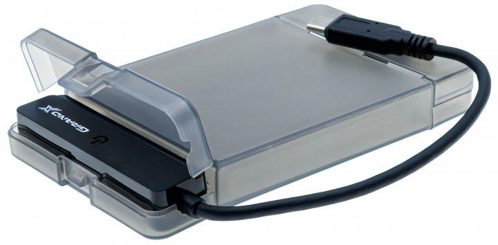 "Внешний карман Grand-X для HDD 2.5"" USB 3.1 Type-C (HDE31) - изображение 1"