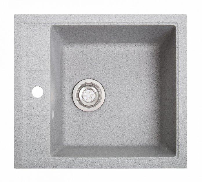 Кухонная мойка Solid Brizz серая - изображение 1