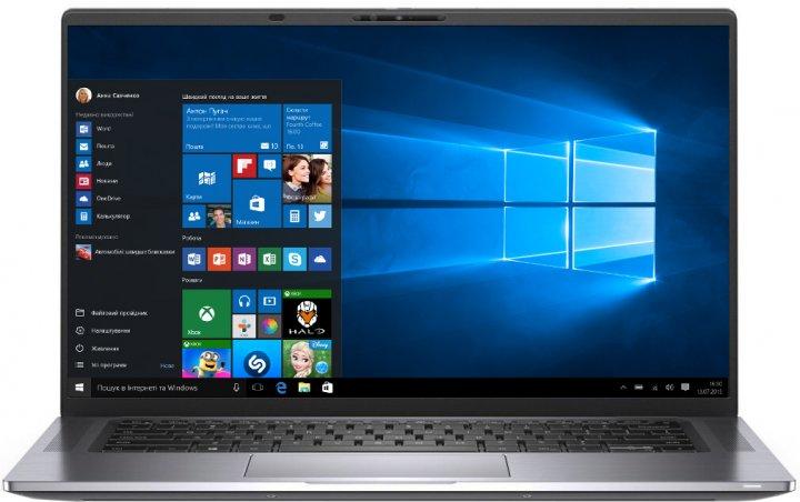 Ноутбук Dell Latitude 9510 (N099L951015ERC_W10) Gray - изображение 1