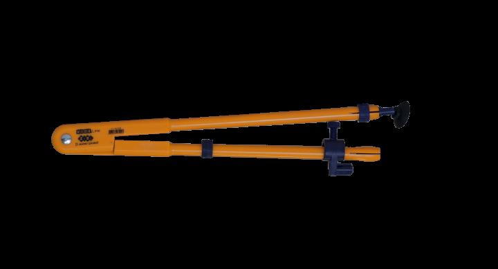 Циркуль ZiBi Teacher для школьной доски желтый (ZB.5398) - изображение 1