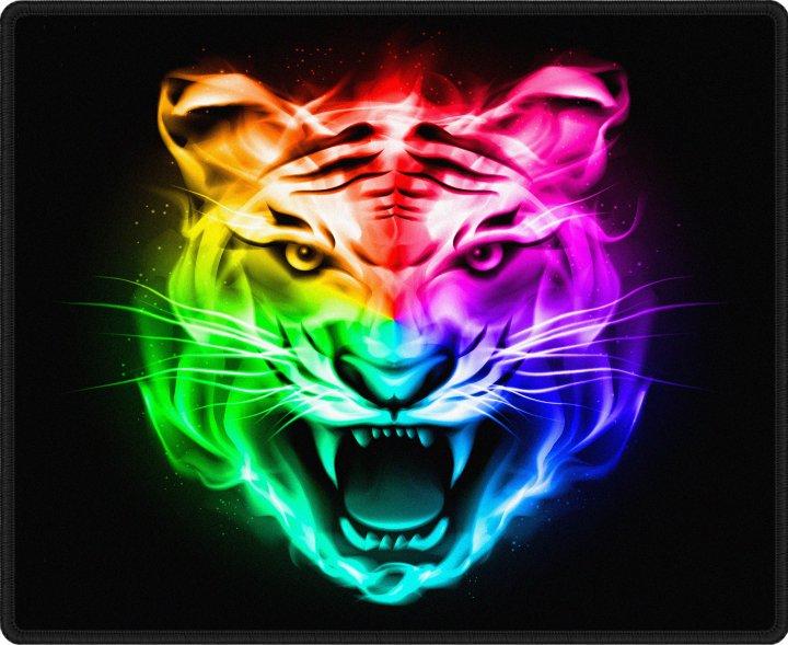 Игровая поверхность Protech Flame Tiger 300 х 250 мм (PR-1623) - изображение 1