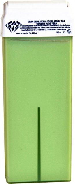 Воск для депиляции BRINail Titanium Aloe Vera в картридже 100 мл (2142393100269) - изображение 1