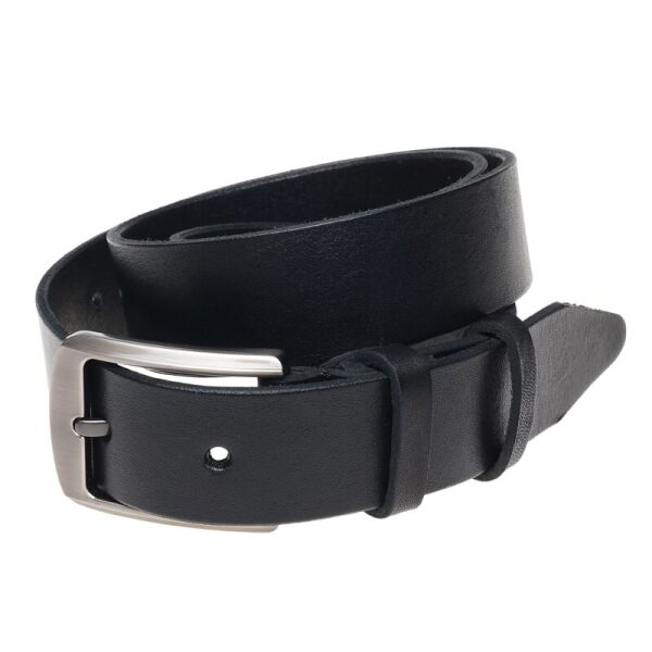 Ремень кожаный Borsa Leather br-115rmkn4-black - изображение 1
