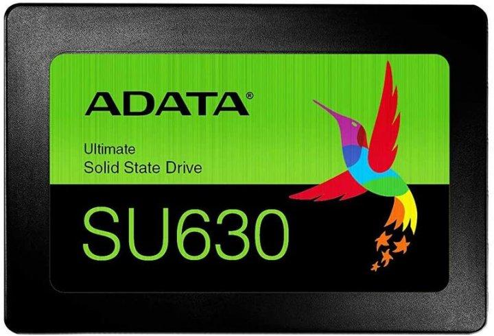 """Накопичувач SSD A-DATA Ultimate SU630 240GB 2.5"""" SATAIII 3D QLC (ASU630SS-240GQ-R) - зображення 1"""