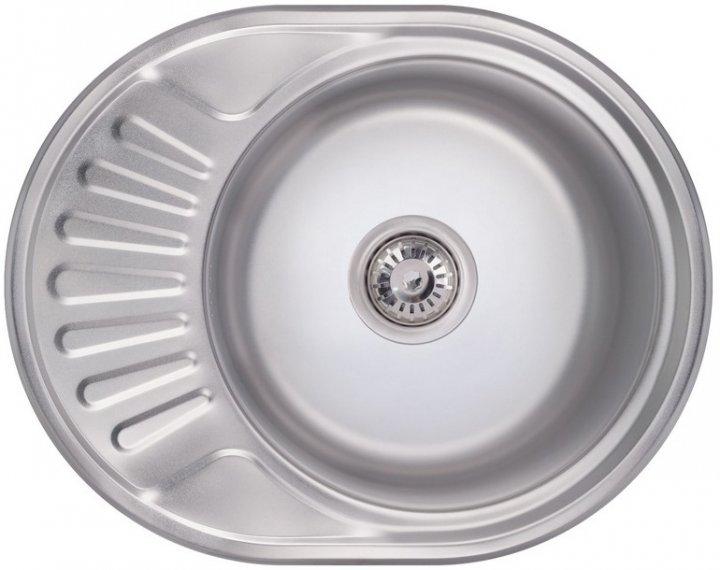 Кухонна мийка LIDZ 6044 Polish 0.8 мм (LIDZ6044POL) - зображення 1