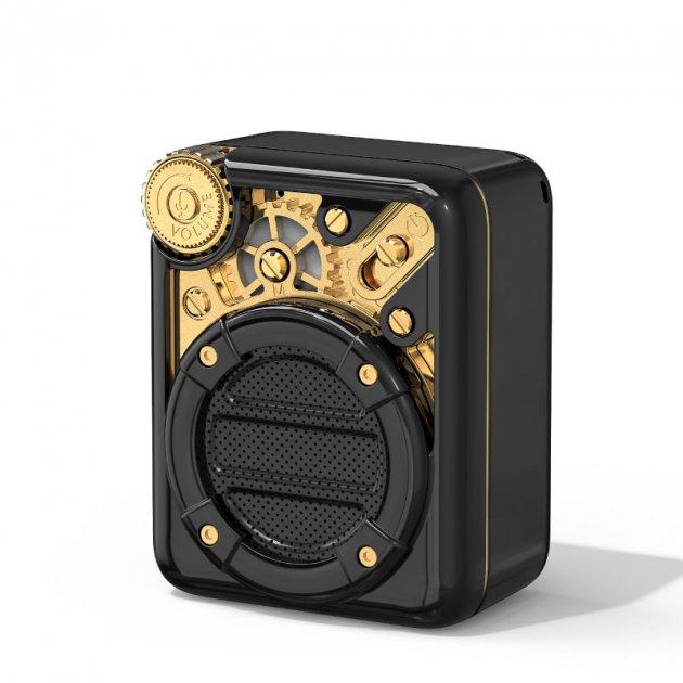 Портативная акустическая система Divoom Espresso Bluetooth Black - изображение 1